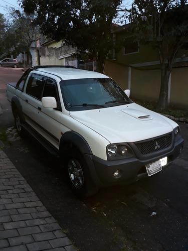 mitsubishi l200 2.5 outdoor hpe cab. dupla 4x4 4p 2010