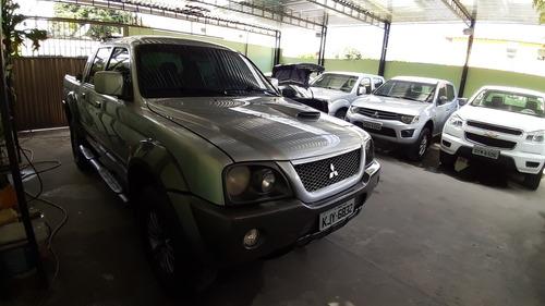 mitsubishi l200 2.5 outdoor hpe cab. dupla 4x4 aut. 4p 2007