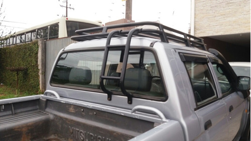 mitsubishi l200 2.5 savana 15 anos cab. dupla 4x4 4p 2009