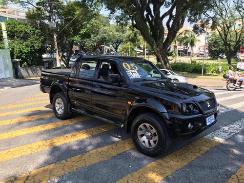 mitsubishi l200 2.5 sport hpe cab. dupla 4x4 2005