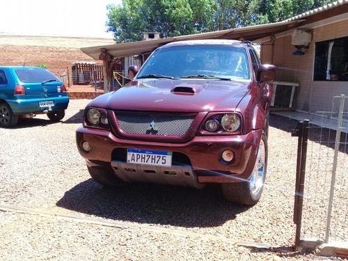 mitsubishi l200 2.5 sport hpe nelore cab. dupla 4x4 aut. 4p