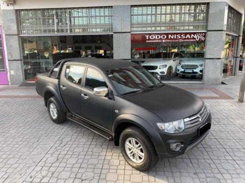 mitsubishi l200 3.2 cab doble 4wd gls  airbag-abs