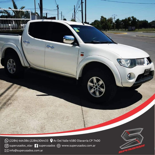 mitsubishi l200 3.2 did cab doble at 4x4 2010