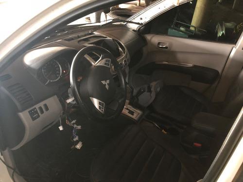 mitsubishi l200 3.2 triton hpe cab. dupla 4x4 aut. 4p sucata
