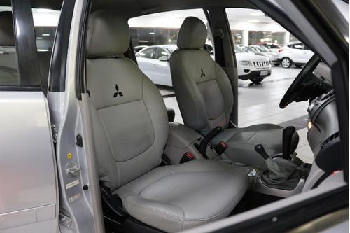 mitsubishi l200 3.2 triton hpe cab. dupla 4x4 aut completo!!