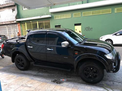 mitsubishi l200 3.5 triton hpe cab. dupl a 4x4 aut. 4p 2009