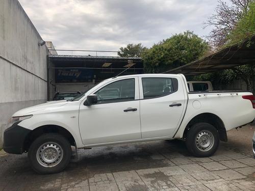 mitsubishi l200 dc,  2018 nafta , 4x4 , pick up utilitarios