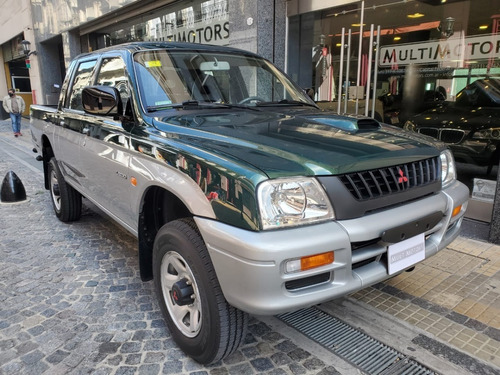 mitsubishi l200 d/c 4x4 2000 solo 30.000 kms!