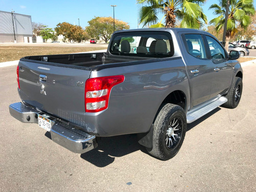 mitsubishi l200 doble cab 4x4 diesel std rin 17 impecable