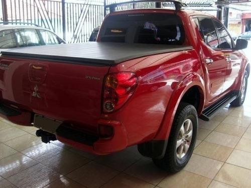 mitsubishi l200 triton 3.5 hpe vermelho 4x4 cd v6