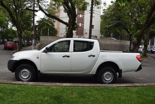 mitsubishi l200 triton gl 3.2 diesel 4x4, 16/17  único dono
