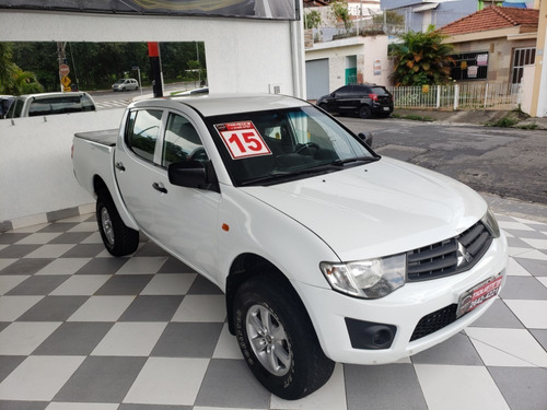 mitsubishi l200 triton gl 3.2 diesel 4x4 cab dupla 2015 4p