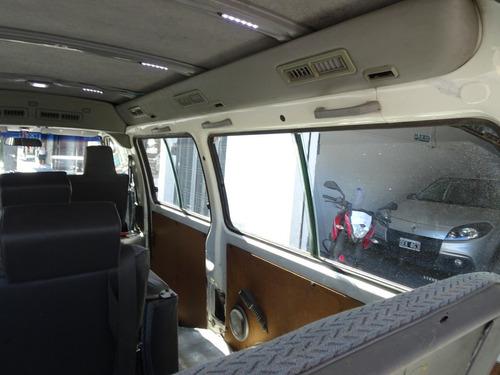 mitsubishi l300  1999 2.5 minibus doble aire tomo usado