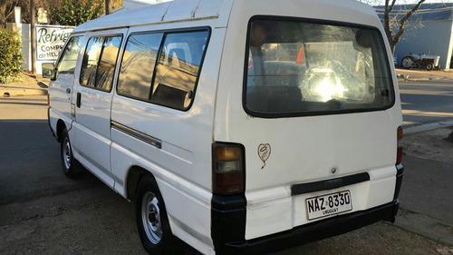 mitsubishi l300 habilitada para 12 pasajeros 1996
