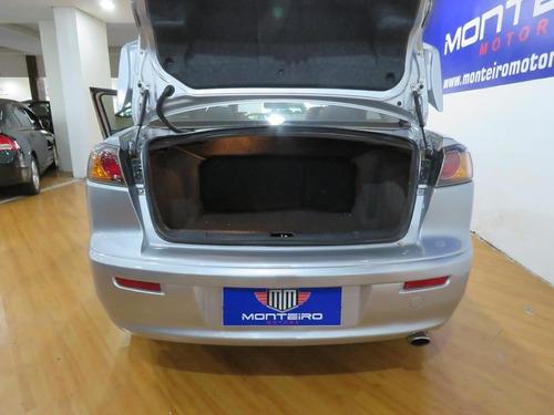 mitsubishi lancer 2.0 16v 4p aut completo c/ paddle shift