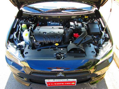 mitsubishi lancer 2.0 cvt 2014 automático só 52.000 km novo