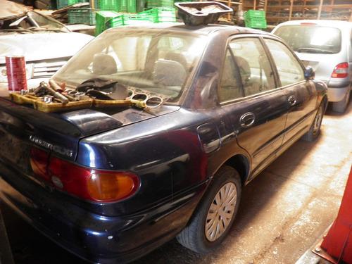 mitsubishi lancer glx 1995 sucata p peças motor cambio