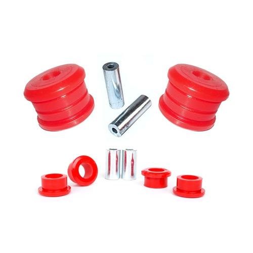 mitsubishi lancer - kit buchas traseiro em poliuretano