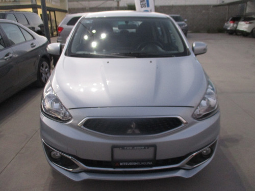 mitsubishi mirage gls man, color plata, modelo 2019, std