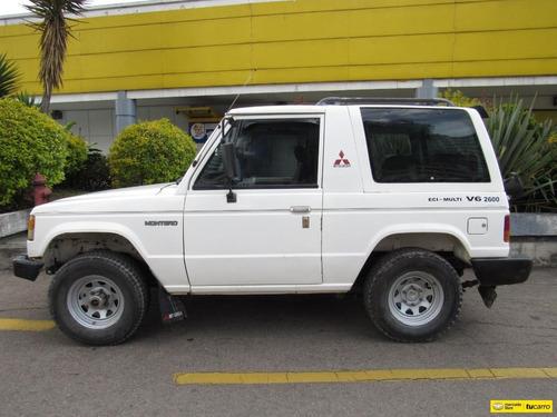 mitsubishi montero 2600cc mecánico 7 puestos