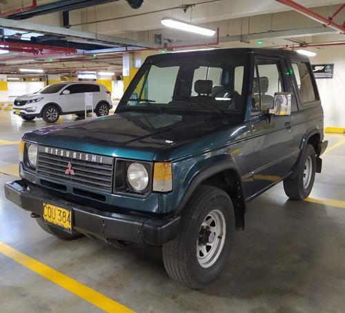mitsubishi montero 4 x4, modelo 1995, motor 2600, verde