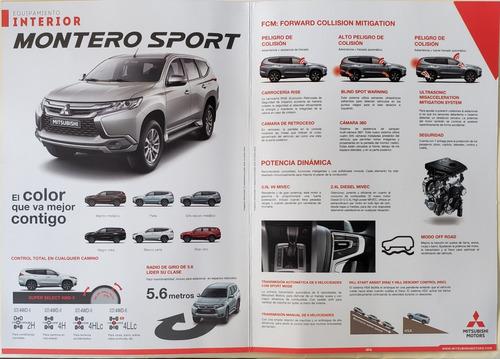 mitsubishi montero 4x4 2.4 hp tdi gls a