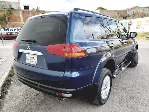 mitsubishi montero limited piel qc 7 pasajeros 4x4 at 2011