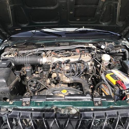 mitsubishi montero sport, 4x4, gas y gasolina