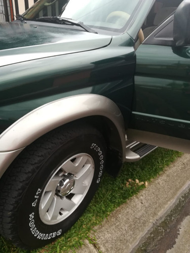 mitsubishi montero sport cambio a motor diesel (motor 2014)