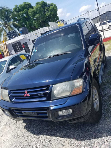 mitsubishi montero sport limited 2002 negociable + financiam
