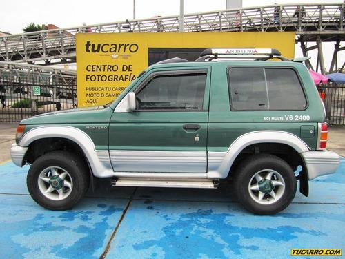 mitsubishi montero v6 4x4 2400cc mt aa