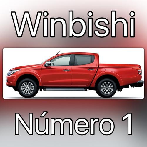mitsubishi nueva l 200 2.4 di-d 30% anticipo y 36 cuotas