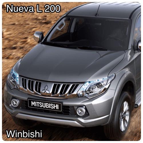 mitsubishi nueva l 200 di-d 0km mejor precio