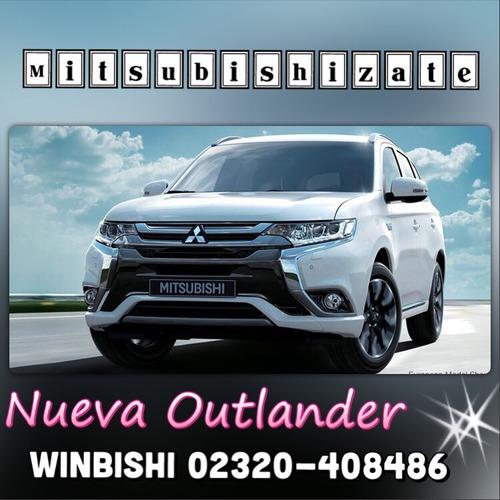 mitsubishi nueva outlander 2.4 precio imbatible
