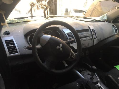 mitsubishi outlander 2007 xls aut 6 cil por partes refaccion