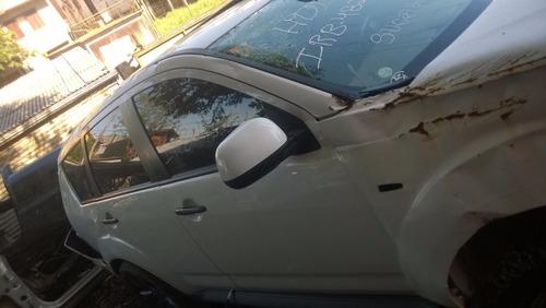 mitsubishi outlander 2012 sucata peças-motor câmbio air bag