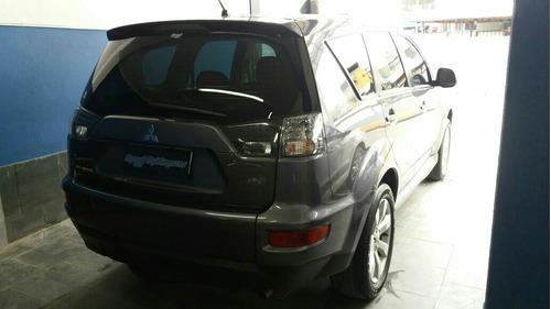 mitsubishi outlander 2.4 2010 cinza 45.000 kms