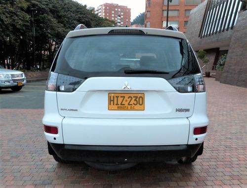 mitsubishi outlander 2.4 2014, mecánica