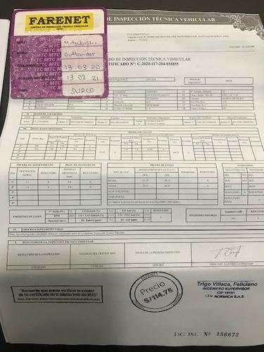 mitsubishi outlander 2.4 - 4x4  3 filas asient. / como nueva