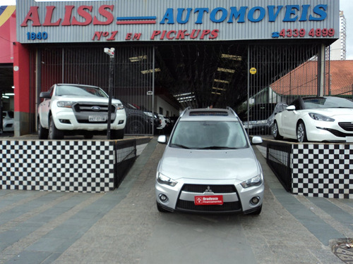 mitsubishi outlander 3.0 4x4 v6 24v gasolina 4p automático