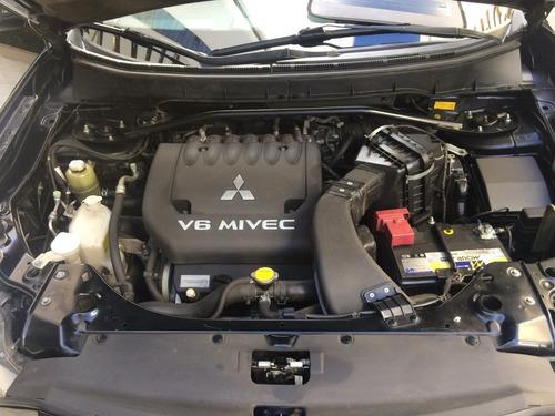 mitsubishi outlander 3.0 gt 2012 blindada kit gas geração 5