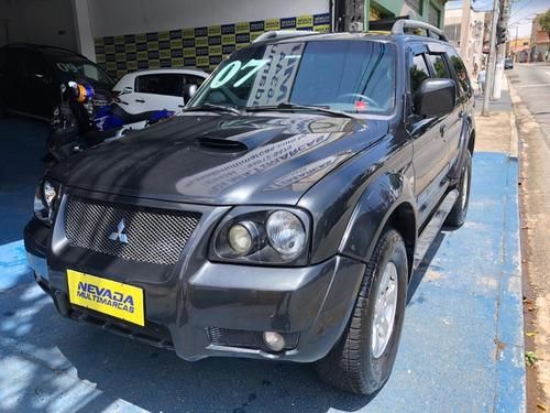 mitsubishi pajero 2007 sport 2.8 diesel hpe 4x4 cinza