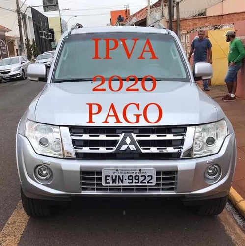 mitsubishi pajero full 3.8 hpe aut. 5p 2012