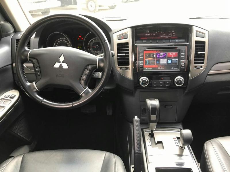 mitsubishi pajero full 4x4 diesel top teto 2015