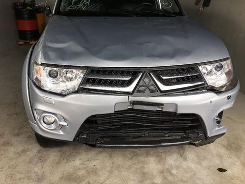 mitsubishi pajero hpe 3.2 4x4 16v turbo diesel 2016 sucata