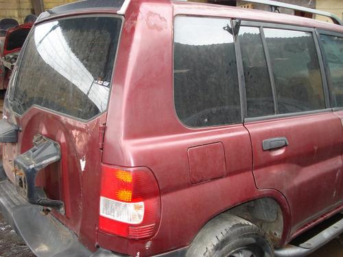 mitsubishi pajero io sucata motor cambio porta suspensão