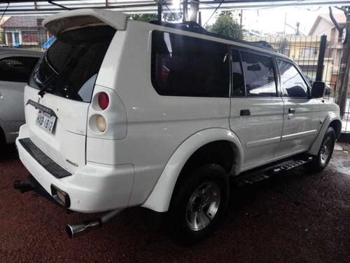mitsubishi pajero sport 2.8 hpe 4x4 5p 2004