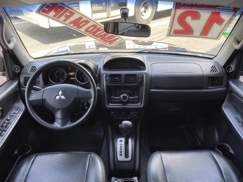 mitsubishi pajero tr4  2.0 16v 4x2  flex aut. 2012