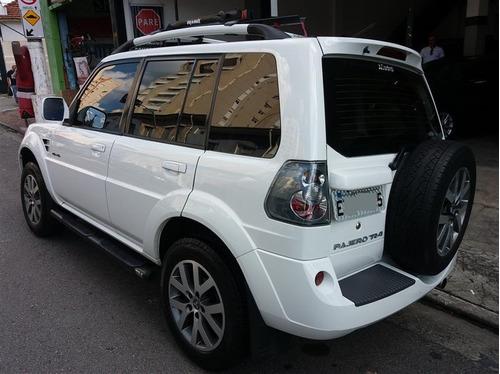 mitsubishi pajero tr4 2.0 4x4 2014 140cv flex automático