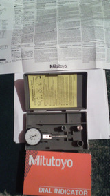 Dial Test Indicator,Hori,0 to 0.008 In MITUTOYO 513-403-10E